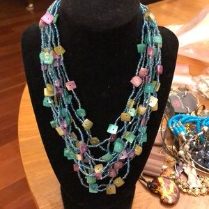 Necklace earrings set NWT